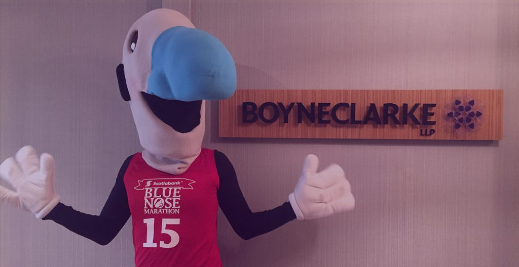 BOYNECLARKE LLP Named Title Sponsor of 15KM Race at the Scotiabank Blue Nose Marathon