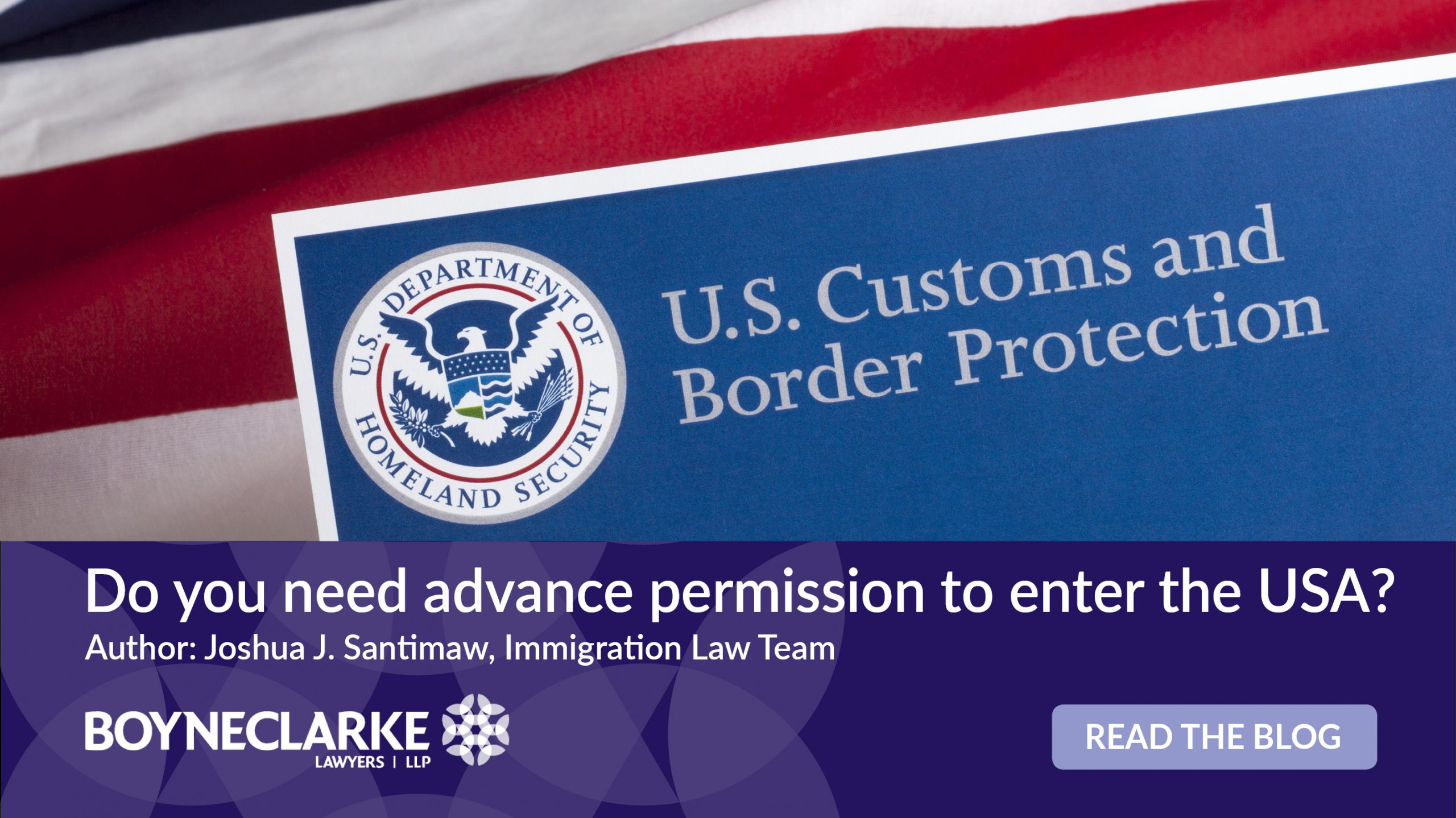 how to enter the usa