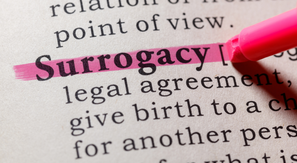 Surrogacy dispute highlights the importance of having a written agreement and independent legal advice